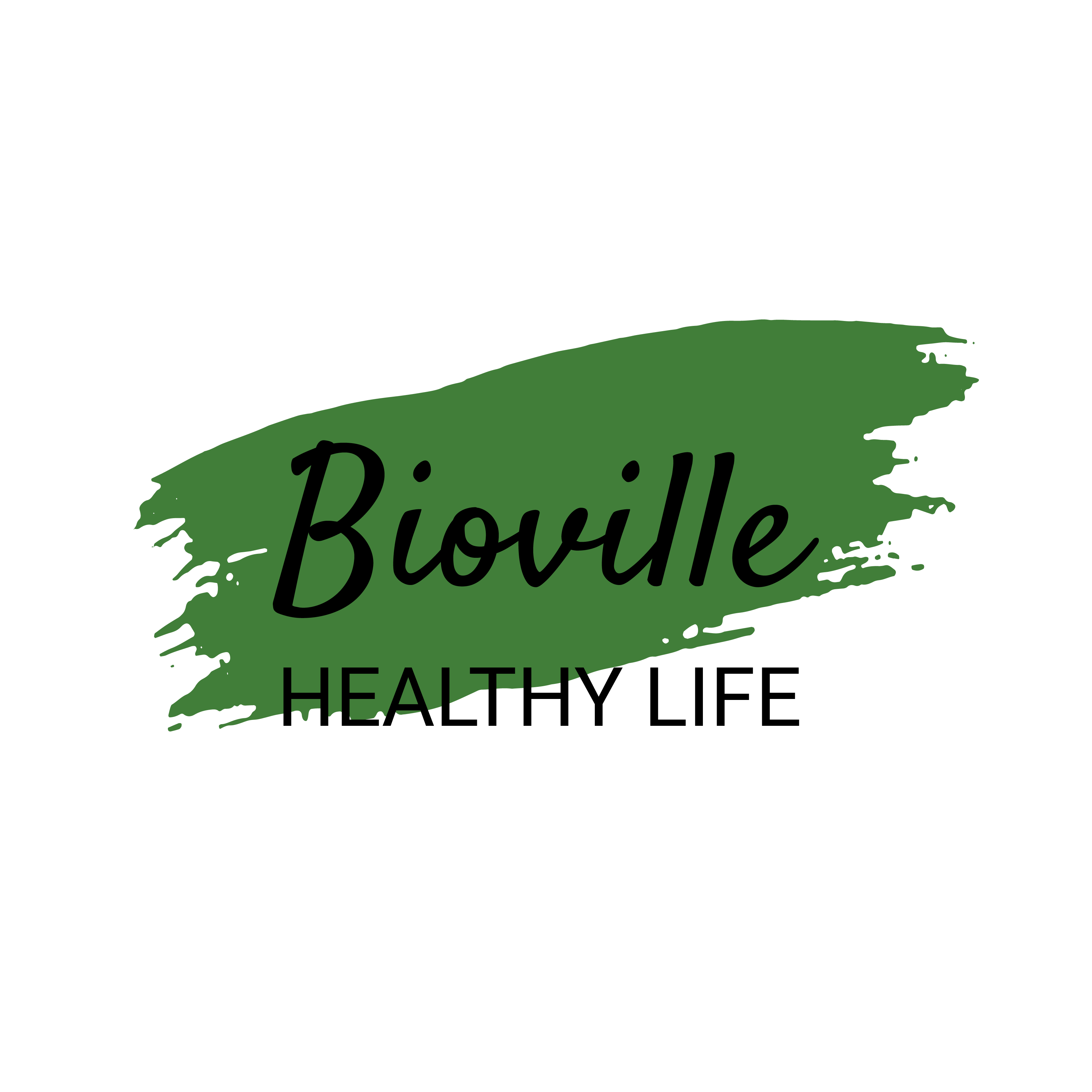 Bioville logo with the slogan
