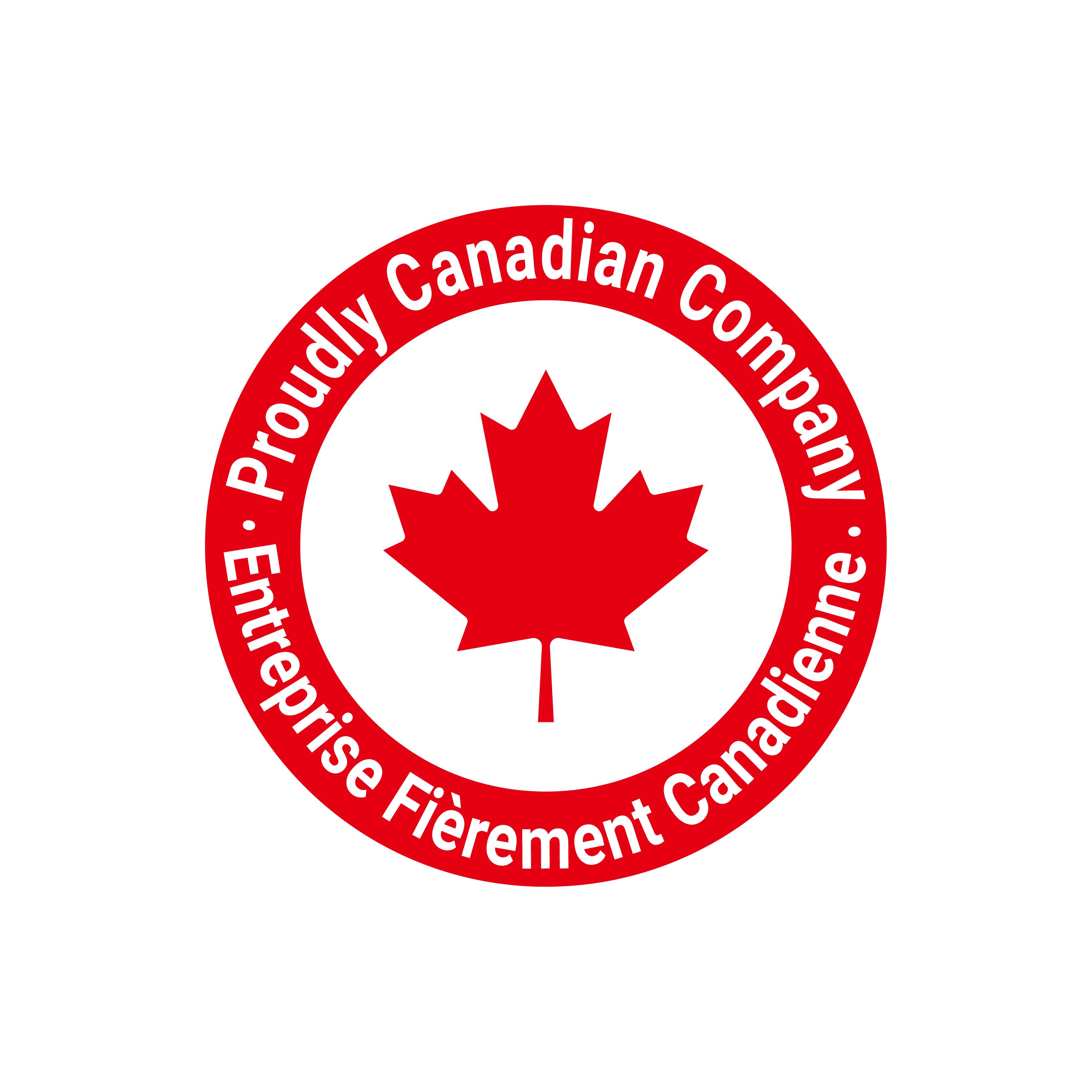 Proudly Canadian Company logo